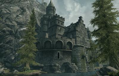 Diman. 5. 4. 3. 2. 1. Мод добавляет в Скайрим небольшой замок который расп